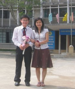 Nho and Binh Graduation